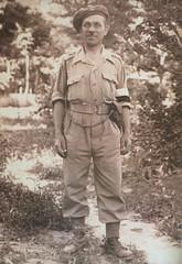 Grandfather. World War 2 (dusk_rider) Tags: soldier polish poland world war 2 ii old vintage photo sepia black white ww2 wwii monte cassino italy pow prisoner eighth army 8th dusk rider