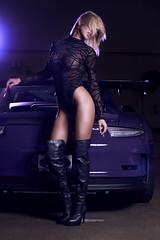 Amie Taylor - Auto Glam - Dec 2017 (Michael Aguilar Photography) Tags: auto automotive glamour glam autoglam sony a7rii zeiss porsche gt3rs purple exotic