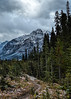 Chilly September Hike (docoverachiever) Tags: banffnationalpark scenery hiking nature alberta mountains rockies canada trail snow landscape clouds