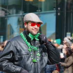 Faces of St. Patrick's Day Parade: adjusting his bowtie thumbnail