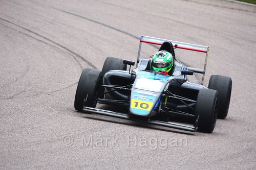 Paavo Tonteri in British F4 pre-season testing  2018