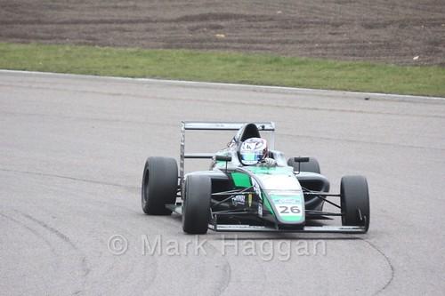 Kiern Jewiss in British F4 pre-season testing 2018