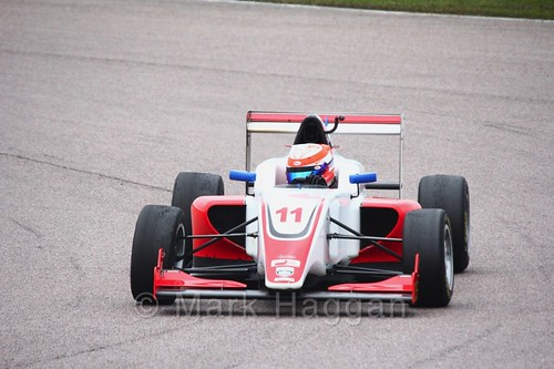 Tristan Charpentier in British F3 pre-season testing 2018