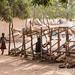 Korhogo children at the looms