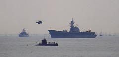 Beware the Spanish 'imposition' (crusader752) Tags: spanishnavy aircraftcarrier príncipedeasturias royalnavy seaking frenchnavy submarine av8b matador sh3d asw bell212 trafalgar200 2005