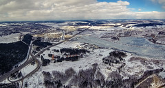 Aerial Panorama (free3yourmind) Tags: aerial panorama view minsk belarus cold ice snow winter river drone quadcopter xiaomi mi