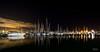 Harbor Wide Angle (markjones bris) Tags: stars boat harbor harbour sailing reflection water sea calm peaceful sharp night dark