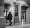 Track 30 (John St John Photography) Tags: grandcentralterminal streetphotography candidphotography 42ndstreet vanderbiltavenue lexingtonavenue metronorth commuters railroad gate man running croton harmon 1120 am bw blackandwhite blackwhite blackwhitephotos johnstjohn