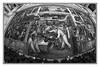 Ford Motor Company ~ River Rouge Plant 1933 (TAC.Photography) Tags: monchrome bw blackandwhite detroit museum detroitinstituteofart diegorivera mural fresco wideanglephoto fisheyephoto tomclarknet tacphotography