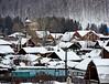 Snowy village (MelindaChan ^..^) Tags: siberia russia 俄羅斯 西伯利亞 chanmelmel mel melinda melindachan lakebaikal 貝加爾湖 winter snow ice cold travel tour lake baikal