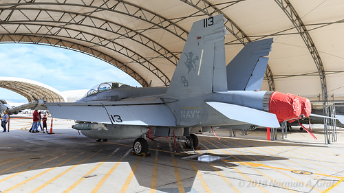 "McDonnell Douglas F/A-18D Hornet of  VX-31 ""Dust Devils"" from NAWS China Lake"