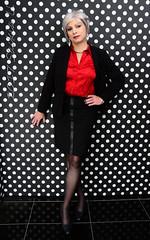 Ready for business (Saskia U.) Tags: tgirl crossdresser makeover crossdressing service
