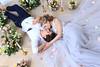 Spring in the air (vishleva) Tags: wedding white light studio marriage couple bride bridegroom flower butterfly