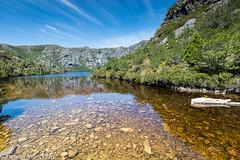 Crater Lake (Stewart M) Tags: 2018 australia cradlemountain tasmania