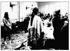 """Photo Series: People Tell Stories: """"An attentive audience"""" (Ken Whytock) Tags: women standing listening meeting conference"""