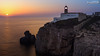 Cabo de São Vicente (dieLeuchtturms) Tags: leuchtturm 16x9 meer küste steilküste sonnenuntergang atlantik portugal algarve europa cabodesãovicente europe cliff coast lighthouse rockyshore sea shore sunset sagres faro pt