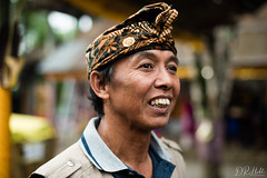 Portrait of a Balinese man (D. R. Hill Photography) Tags: bali ubud indonesia asia southeastasia travel portrait man balinese bokeh nikon nikond750 d750 nikon50mmf14g 50mm primelens fixedfocallength