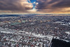 Sunset from above (free3yourmind) Tags: sunset clouds cloudy aerial view panoramic minsk belarus city xiaomi mi drone quadcopter snow cold
