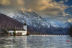 Gmünden Sunset (hapulcu) Tags: austria austrija autriche gmunden oberösterreich oostenrijk hiver invierno lac lake winter österreich