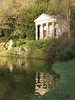 Floras Temple poster edges 3 (Cornishcarolin. Thank you for over 2 Million Views) Tags: wiltshire httpswwwnationaltrustorgukstourhead florastemple architcture buildings reflections trees water lake filters posteredges