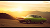 Dodge Challenger (at1503) Tags: usa america california american yellow orange green car mountains westcoast granturismo warmtones granturismosport digitalphotography digitalmotorsport motorsport racing game ps4 1970s classic musclecar