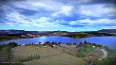 LAKE WALLACE - WALLERAWANG NSW (smortaus) Tags: australia australianimages australianlandscape nswrural nsw wallerawang lake lakewallace wangdam phantom4 landscapesofaustralia color lotsofcolours sky air photosfromaustralia
