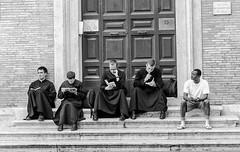 Preti (Lorenzo Dottorini) Tags: italy italia roma rome piazza del gesù preti religious priest pretini strada street photography