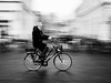 Cycling (alexhesse.de) Tags: streetphotography cycling fahrrad bici bicycle bicycleculture bike monochrome bnw blacwhite blackwhite urban city man fast blury speed