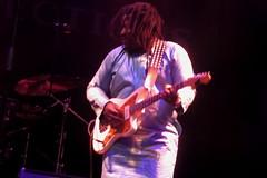 Oumou Sangaré (2018) 04 - guitarist (KM's Live Music shots) Tags: worldmusic mali wasulumusic oumousangare electricguitar guitar celticconnections royalconcerthall
