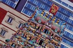 Little India - temple Sri Veeramakaliamman (luco*) Tags: singapour singapore litle india temple hindou sri veeramakaliamman