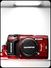 OLYMPUS TG5. Tough. (CWhatPhotos) Tags: cwhatphotos photographs photograph pics pictures pic picture image images foto fotos photography artistic that have which contain olympus tg5 tough closeup olympustg5 light shadow new stillimage still waterproof shockproof shock water proof red compact camera f200