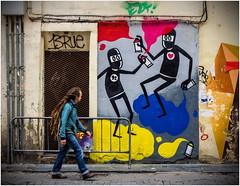 Sprayer (kurtwolf303) Tags: valencia streetart graffito person art strasenkunst kunst streetphotography strasenfotografie spanien spain street olympusem1 omd microfourthirds micro43 systemcamera mirrorlesscamera mft kurtwolf303 sprayer graffiti costablanca urban urbanlifeinmetropolis