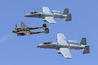 P-38 & A-10's Heritage Flight