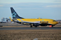 Here is Air Transat  C-GTQP (shumi2008) Tags: airtransat airtransat737 boeing737 b737 b737700 aslairlinesfrance torontopearson pearsonairport yyz cyyz