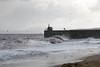 Stormy seas at Ravenscraig Beach  30 (Bill Cumming) Tags: fife kirkcaldy ravenscraig storm waves harbour pier