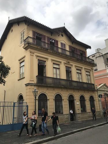 Casa Número UM, Casa da Imagem (number one house), São Paulo downtown, Brasil.