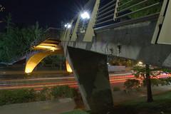 Puente nocturno (le_nachin) Tags: nikon nightphotography nikonchile scl