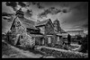 Südengland-Tintagel Old Post Office (Roland Mantke) Tags: südengland sw bea architektur alt gebäude tintagel cornwall blackandwhite