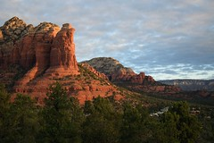 Sunrise at Thunder Mountain, Sedona, AZ (bwhough) Tags: landscape sedona arizona sunrise