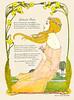 Heinrich Vogeler 'Blühende Äeste' (1902 in 'Jugend') (zimmermann8821) Tags: jugendstil bildendekunst zeichnung design druck grafik grafikdesign illustration mehrfarbendruck worpswede deutscheskaiserreich deutschesreich deutschland blumen gartenpark jungefrau teenager baum blume natur pflanze wiese blumenarrangement damenfrisur damenmode frisur kleid mode jugend heinrichvogeler