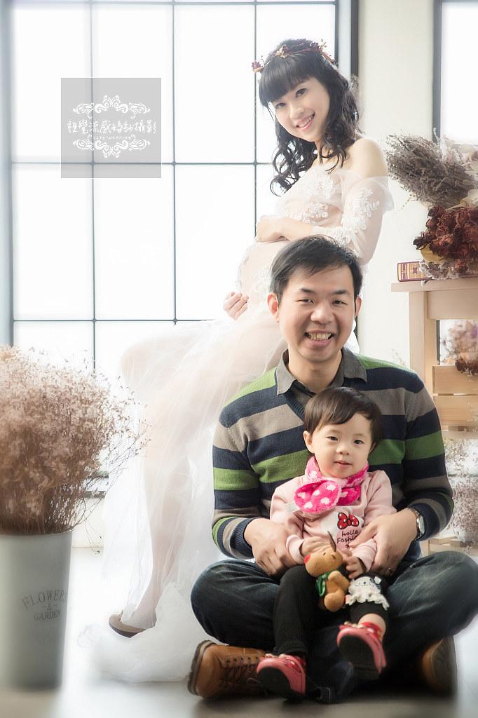 孕婦藝術照,巷子內攝影棚,親子寫真,孕期婚紗