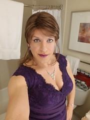 Playing the Part (Bryan Bree Fram) Tags: nyc new york glam selfie transgender genderfluid
