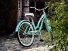 In the Neighborhood (Bennilover) Tags: bicycle neighborhood blue corner explore bikes beachcruiser beach