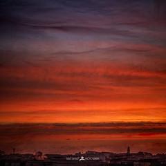 Don't Be Afraid (Brice L) Tags: sunrise burning morning sky dark sunday red