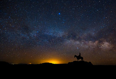 Cowboy Milky Way (Jerry T Patterson) Tags: milkyway astrophotograpy earthpics earthwonders longexposure southwest moab canyonlands cowboy anp monumentvalley