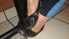 Gigi (5243) (Duke of Slippers) Tags: ballet slippers shoes flats pumps footwear fetish ballerinas ballerines scarpe pantofole pantoufles