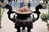 Ngoc Son Temple (Terry Hassan) Tags: vietnam hanoi temple confucian taoist ngocson pot urn incence
