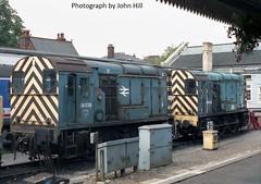08538 & 08540 at Kings Lynn (TutorJohn72) Tags: class 08 1989 kings lynn station