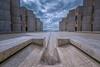 Salk Institute for Biological Studies (Roving Vagabond aka Bryan) Tags: salkinstitute luiskahn lajolla sandiego clouds architecture water symmetry socal ucsandiego ucsd