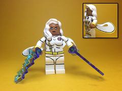 Lego X-Men: Storm (JerdFigs) Tags: xmen storm lego toys cartoons